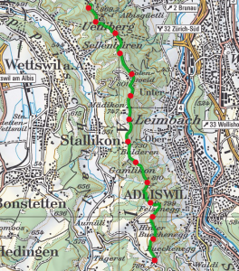 Albisgrat Hohenweg route 264x300