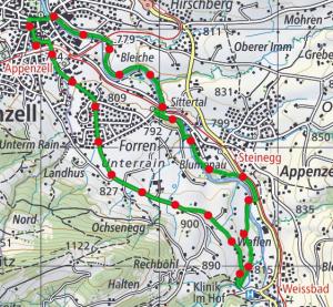 Appenzeller route 300x277
