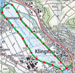 Klingnauer route 300x295