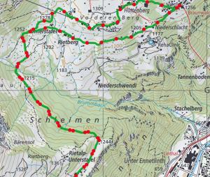 Nussuel Weg route 300x254