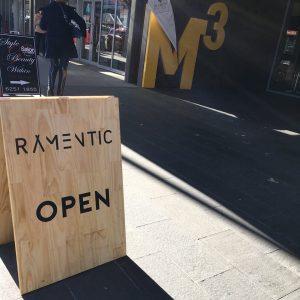 Ramentic signboard 300x300