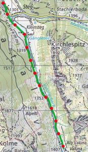 Valunaweg route 174x300