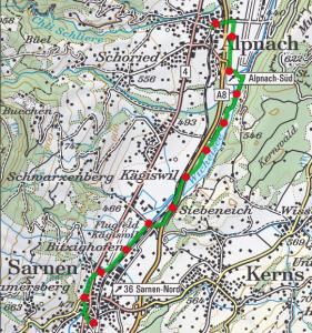 Witchelsee Weg route 281x300
