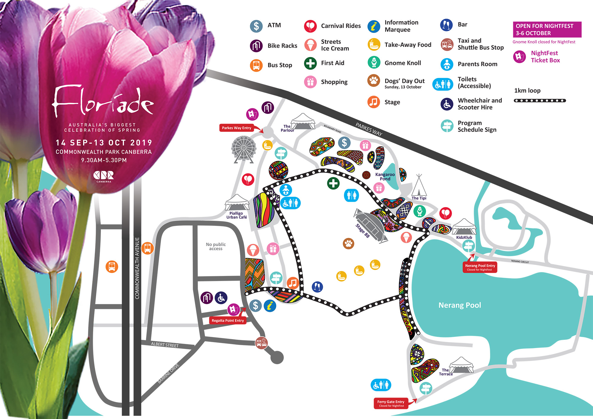 Map of Floriade