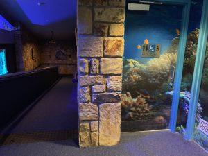 NZA Aquarium Toilet Entrance and Ramp 300x225