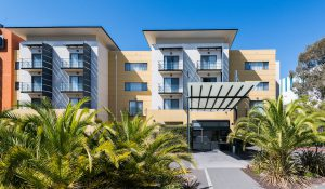 The Woden Hotel Facade 300x175