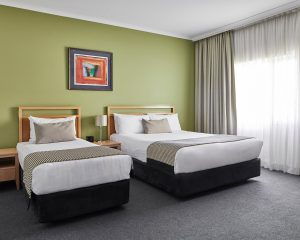 The Woden Hotel room 300x240