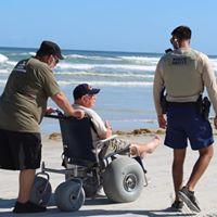 Florida beach wheelchair