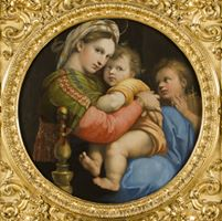 Uffizi painting