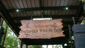 FeatherdaleWildlifePark sign 300x169