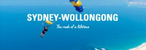 SkydiveSydney Wollongong banner 300x103