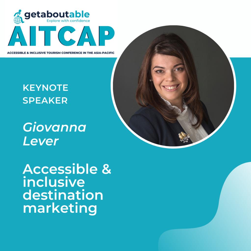 Keynote day 3 AITCAP 2021 Giovanna Lever