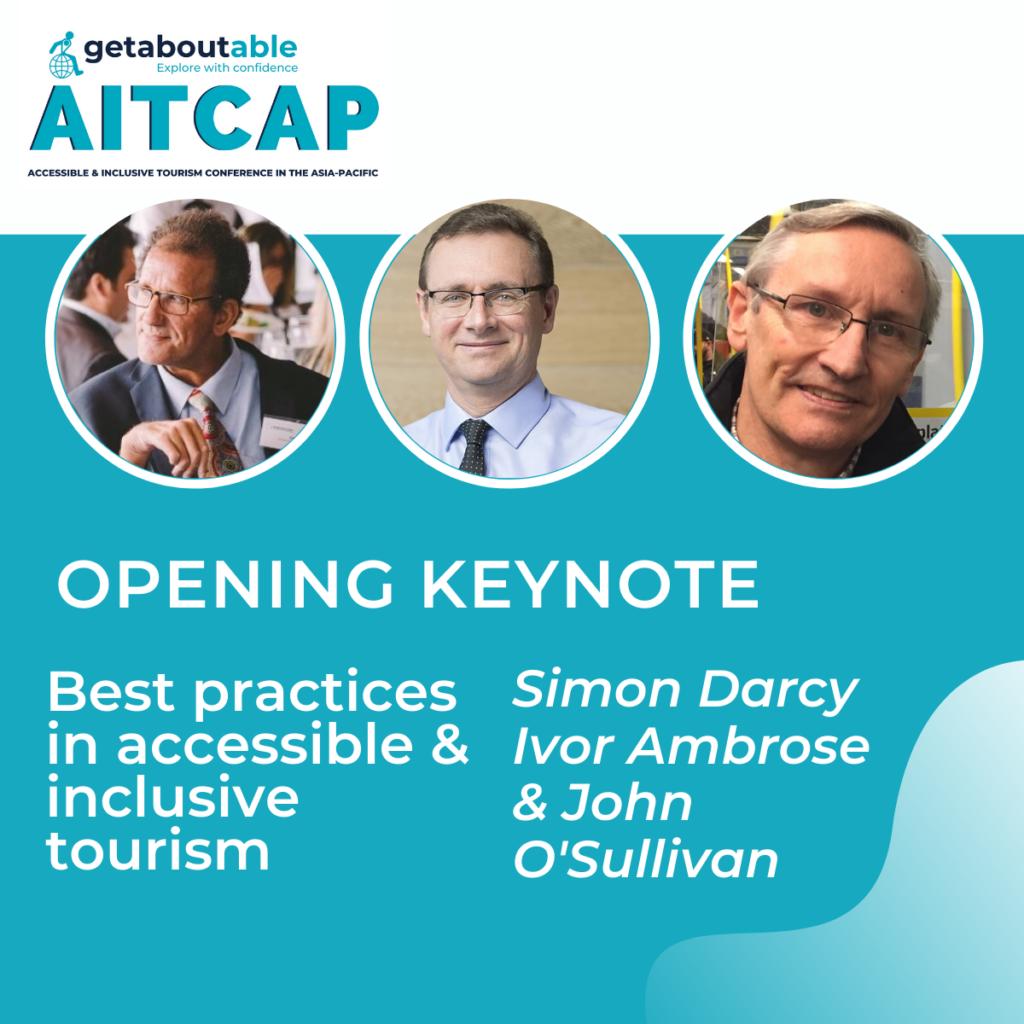 Opening keynote for AITCAP 2021 Simon Darcy John O'Sullivan Ivor Ambrose