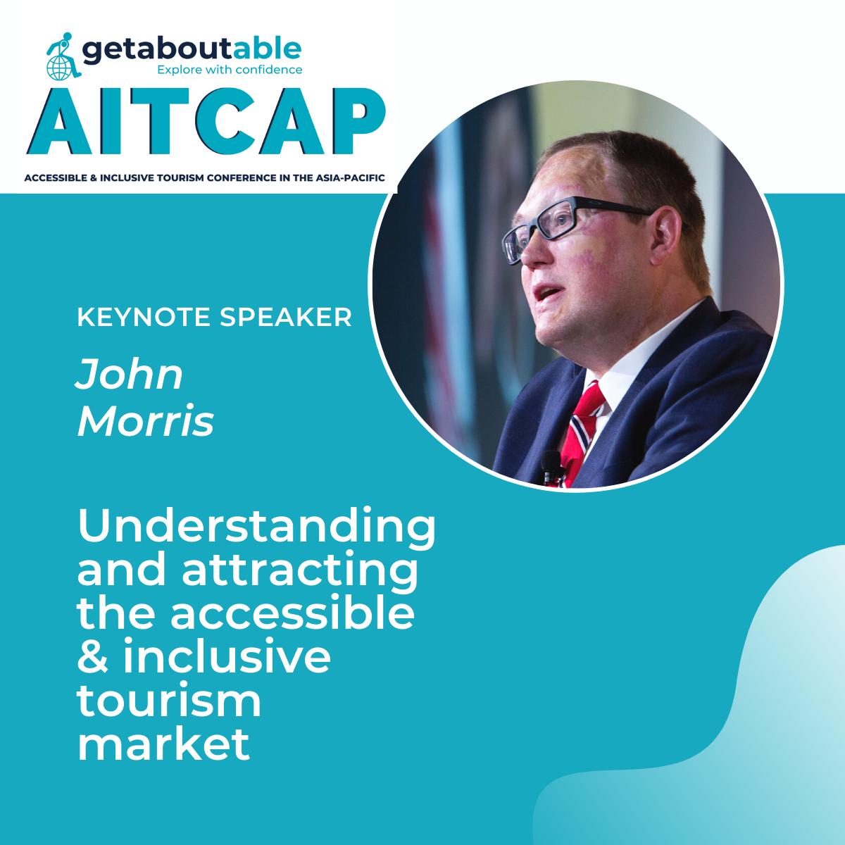 Keynote day 2 AITCAP 2021 John Morris