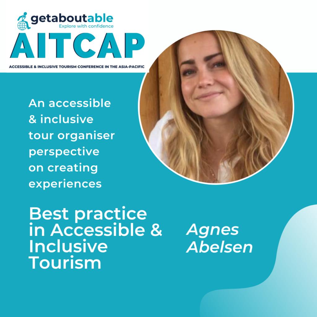 AITCAP 2021 Speaker Agnes Abelsen