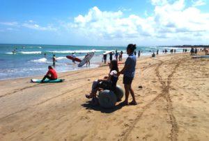 AccessibleIndonesia BeachWheelchair 300x203
