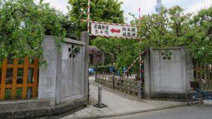 kameido tenjin side entrance 123 300x169