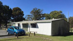 ningi community hall external craft shed 1 300x169